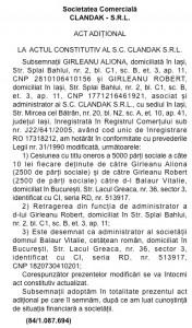 Unul dintre autoturismele cu care a circulat presupusul asasin moldovean aparține firmei Clandak din Iași