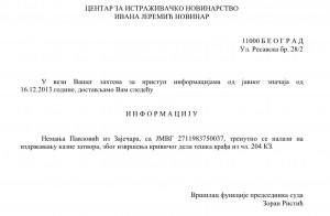 Autoritățile din Serbia confirmă că Nemanja Pavlovic se află la pușcărie