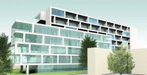 Proiectul din 2009, pe care Ro Naturstein îl avea pentru adresa Calea Victoriei nr. 176   Sursa: urbanoffice.ro