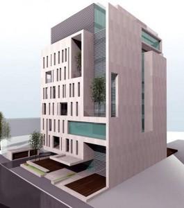 Proiectul Ro Naturstein pentru Mihai Eminescu nr. 92-94 Sursa: urbanoffice