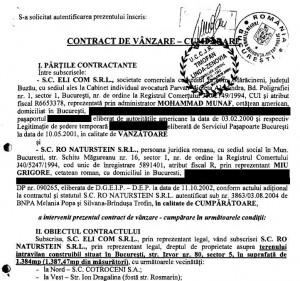 (FOTO 6. - facsimil) Contractul dintre Ro Naturstein și firma lui Munaf