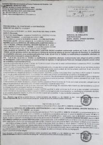 Serviciului de Ambulanță Buzău a fost amendat de patru ori în aceeași zi pentru una dintre mașinile care participau la intervenții