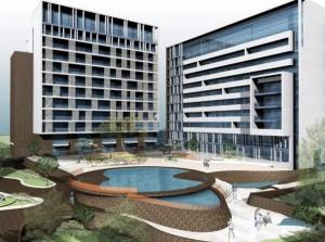 Unul dintre complexele rezidențiale pe care Urban Office le-a proiectat în Neptun pentru Wehbe și Purcărea. Sursa:urbanoffice.ro