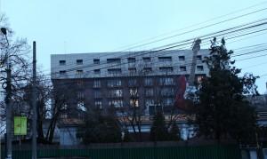 Ahmetov și-a înființat firma în această clădire acum o lună de zile