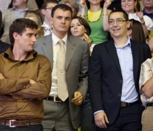 Sebastian Ghiță și Victor Ponta foto: Agerpres