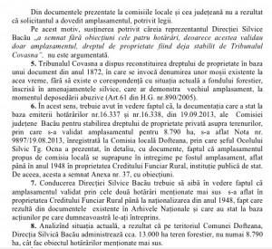 Conducerea Romsilva a criticat însă modul în care a acționat Direcția Silvică Bacău.