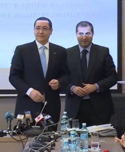 Victor Ponta și Florin Jianu
