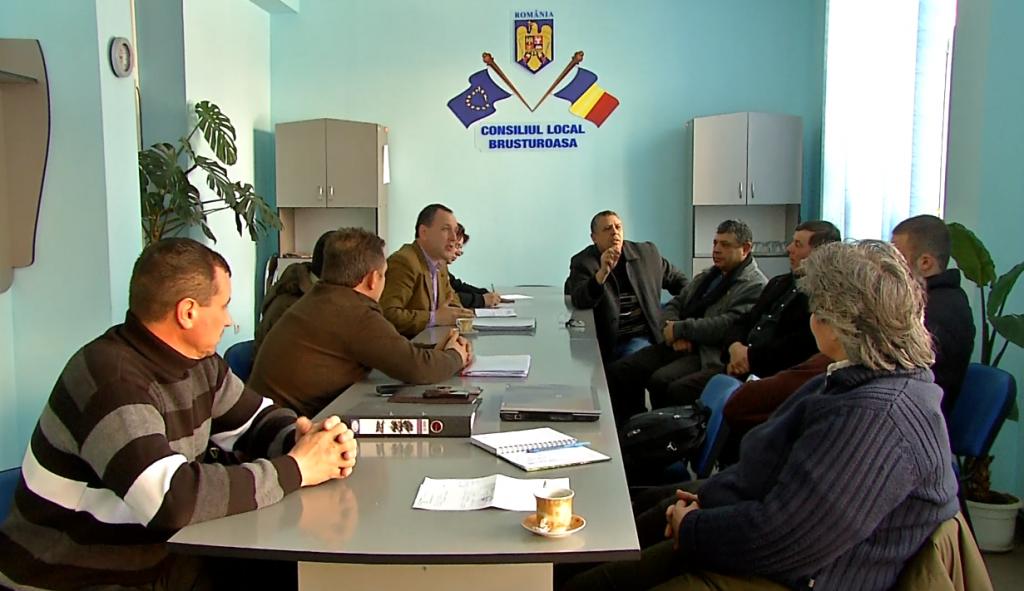 Ședință la Consiliul Local din Brusturoasa