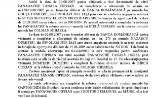 Extras din rechizitoriul grupării Corduneanu