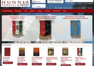 Ofertă de produse naționaliste pe pagina firmei lui Csibi Barna