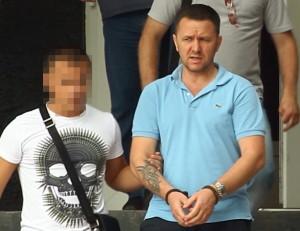 """Ion Druță, zis """"Pisateli"""", a fost arestat vara trecuta pentru comandarea unui triplu asasinat.           Foto: RISE Project"""