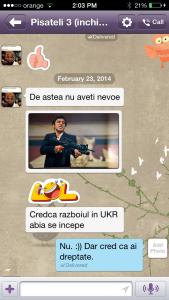 """Mesaj de la """"Pisateli"""", trimis pe Viber, în timp ce era închis în penitenciarul de maximă siguranță din Chișinău"""