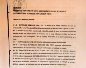Fragmentul din statutul asociației care demonstrează scopul pentru care a fost înființată