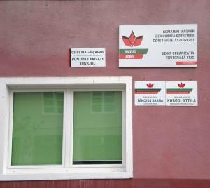 Sediul asociației se află în centrul orașului condus de primarul Raduly Robert.
