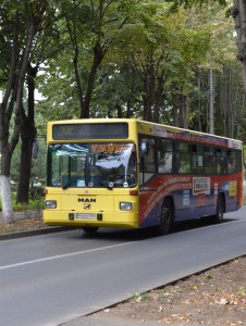 Autobuz Man, care va fi remotorizat cu GPL în Ploiești, contra 80.000 de euro
