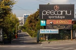 """Firma care a încheiat parteneriatul cu APS 6 pentru construirea Express Bazar a operat și un restaurant în cadrul """"Pescariu Sports&Spa"""" / FOTO: RISE Project"""
