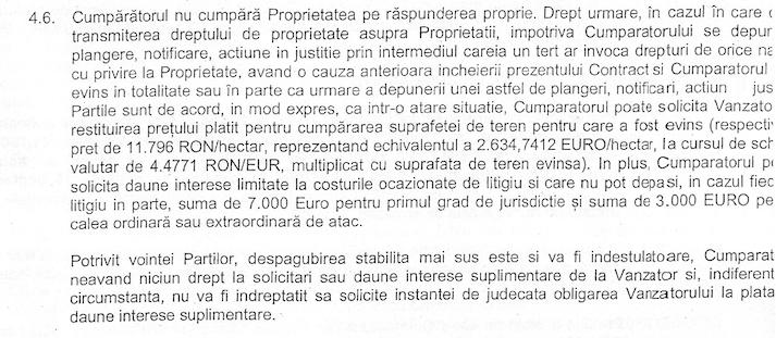 Greengold nu cumpără pădurile de la Scolopax pe proprie răspundere
