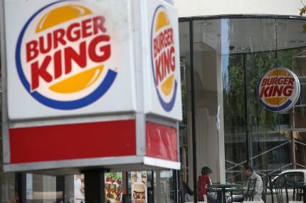 Restaurantele Burger King n-au avut deloc succes în România / FOTO: AFP/Mediafax/ Justin Sullivan