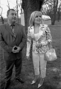 Cocoș și șefa cancelariei prezidențiale    Foto: evz.ro