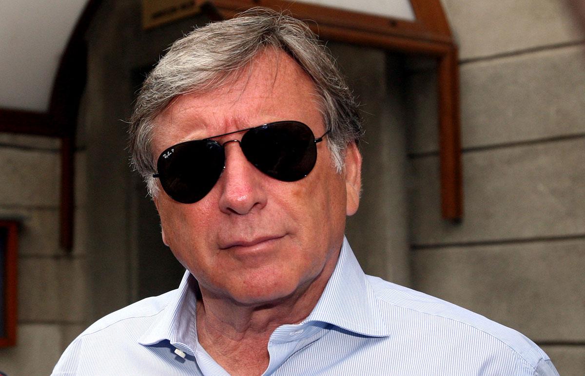 Vladimir Cohn, fost acționar al clubului de fotbal Dinamo București. Foto: Nicolae Chiris/Mediafax Foto.
