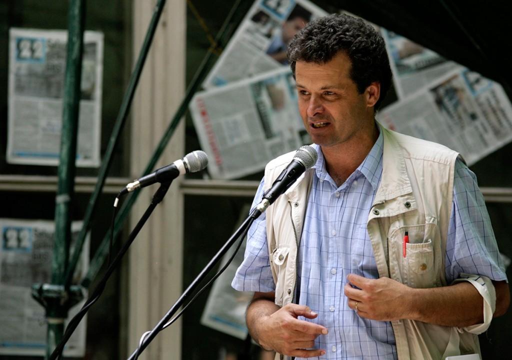 Fostul dizident anticomunist Radu Filipescu, una dintre multele victime ale lui Ion Chiriță / FOTO: Bogdan Baraghin / Mediafax
