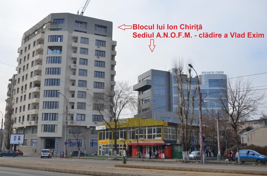 """Înainte de a se asocia cu el în proiectul """"Tineretului Park View"""", Micșunescu a fost la un pas de a-l reclama pe Chiriță pentru ilegalitățile pe care le-a comis în timpul construirii unui bloc din Piața Timpuri Noi. FOTO: RISE Project."""