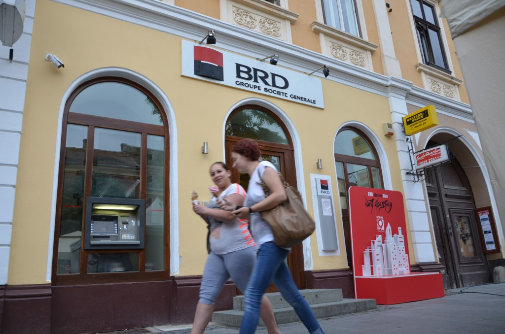 Chiria plătită de BRD pentru amenajarea unei agenții pe Strada Nicolae Bălcescu era de 22 de euro/lună/mp în 2004. FOTO: RISE Project.