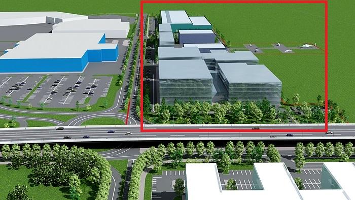 Aviația Utilitară București a comandat un Planul Urbanistic Zonal pentru valorificarea imobiliară a terenului de 8,8 hectare încă din 2009. Clădirile reprezentate în dreapta magazinului IKEA sunt parte din acest plan. FOTO: Pagina web a companiei Western Outdoor.