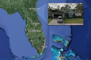 Casa din America pe care soții Baștea și-au cumpărat-o în 2006. FOTO: Google Earth, Google Street View.