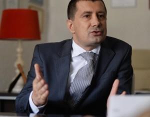 Andrei Gagea, omul care leagă firma offshore-ul cipriot de familia Oprescu, la un interviu în 2014. FOTO:Andreea Alexandru/Mediafax Foto.