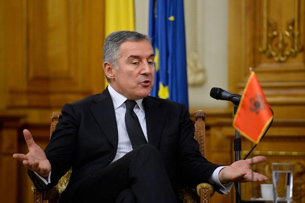 Milo Djukanović, campionul corupției în 2015, în opinia jurnaliștilor afiliați OCCRP. FOTO: Octav Ganea/Mediafax.