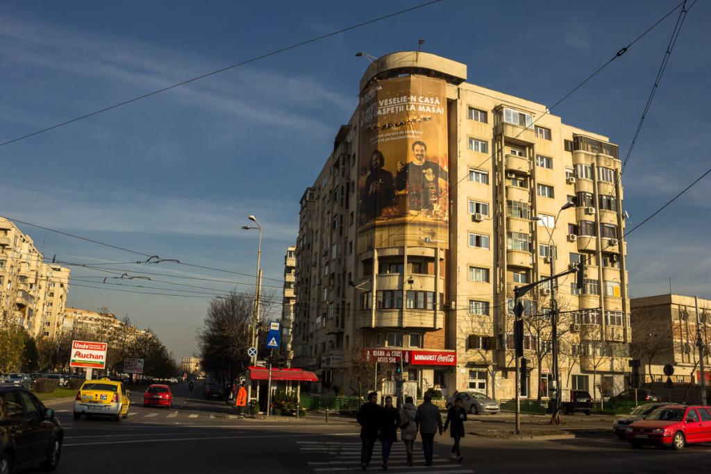 Calea 13 Septembrie, blocul T1B. FOTO: RISE Project / Sergiu Brega