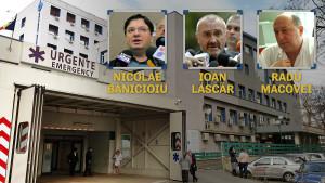 Ministrul sănătății, Nicolae Bănicioiu, directorul Spitalului Floreasca, Radu Macovei, și șeful secției de arși, profesorul Ioan Lascăr, au ales să ascundă adevărul, în niște momente de solidaritate umană uriașă, în care nimeni nu credea că în România au mai rămas resurse pentru minciună.