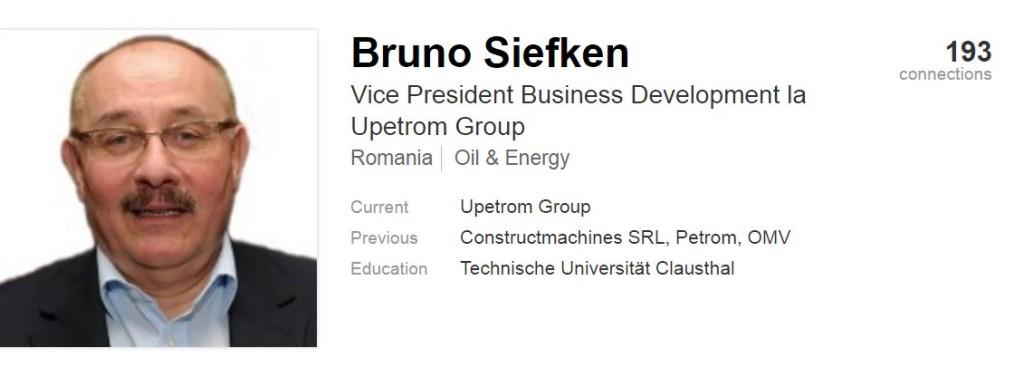 Bruno Siefken, profil LinkedIn