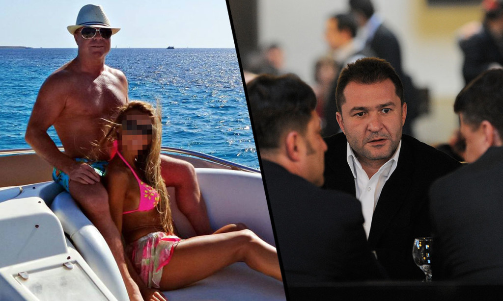 Nicu Gheară (s) și Elan Schwartzenberg (d) membru al grupului de la Monaco. Foto: Facebook / Mediafax Foto - Răzvan Chiriță