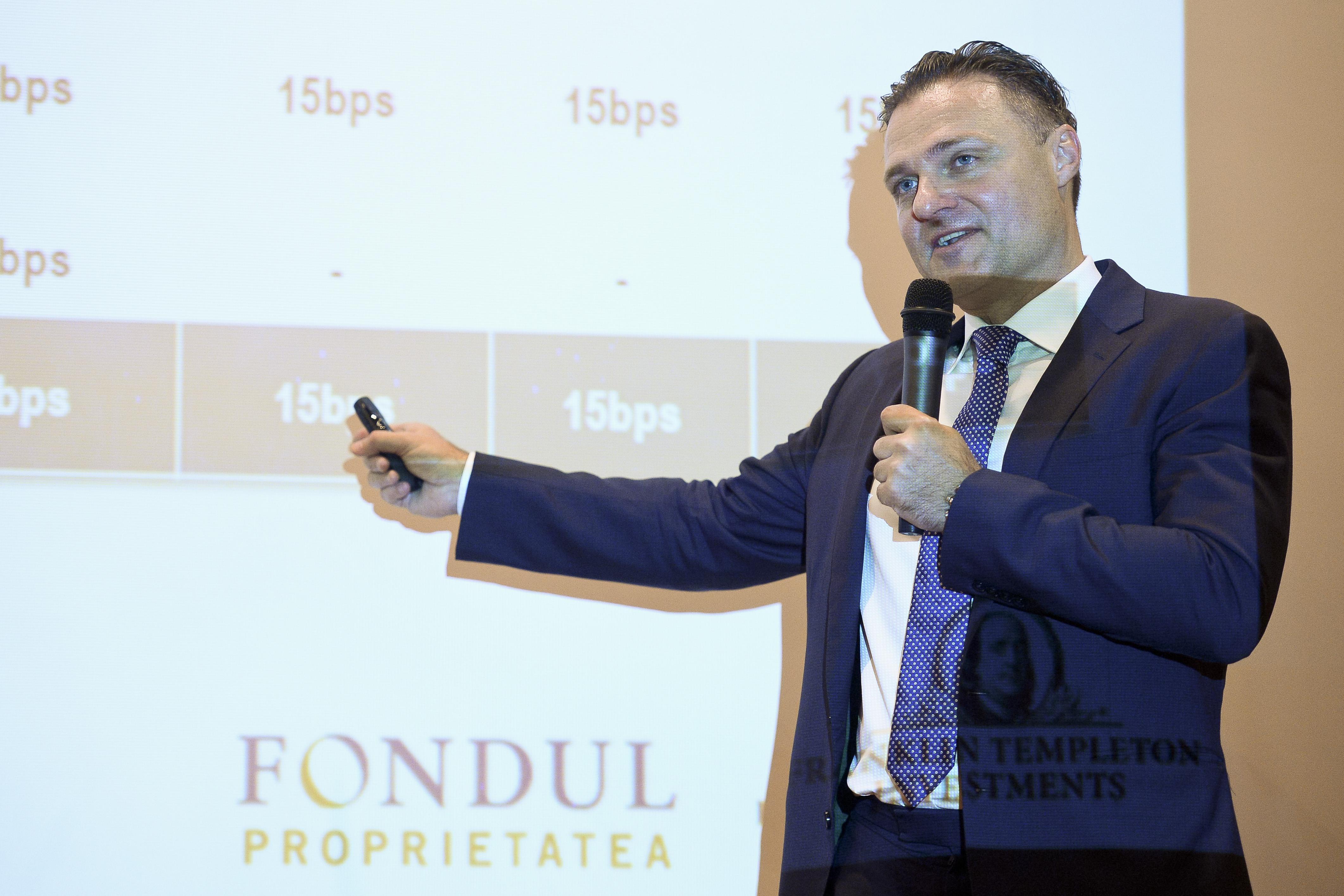 BURSA DE VALORI BUCURESTI - ANIVERSARE - FONDUL PROPRIETATEA
