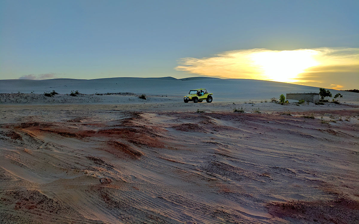 Cumbuco's sand dunes. Photo: Paul Radu