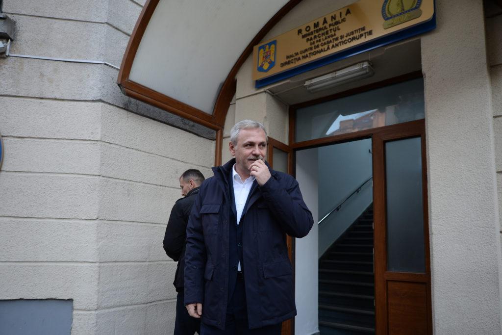 Liviu Dragnea, după una dintre audierile la DNA / Sursa foto: Mediafax.ro - Alexandru Dobre