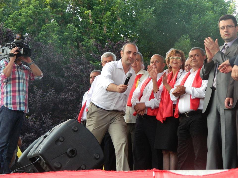 Mihai Slăvescu Putineanu, finul lui Liviu Dragnea, amfitrion la un eveniment electoral / Foto: liberinteleorman.ro
