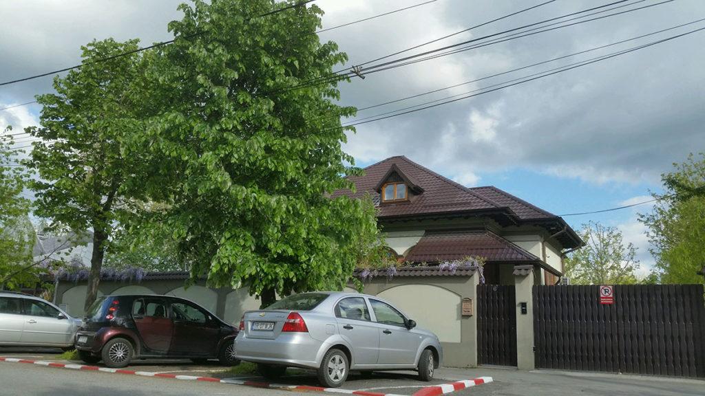 Casa de pe strada Mihăiță Filipescu din Alexandria, a aparținut inițial firmei Tel Drum.
