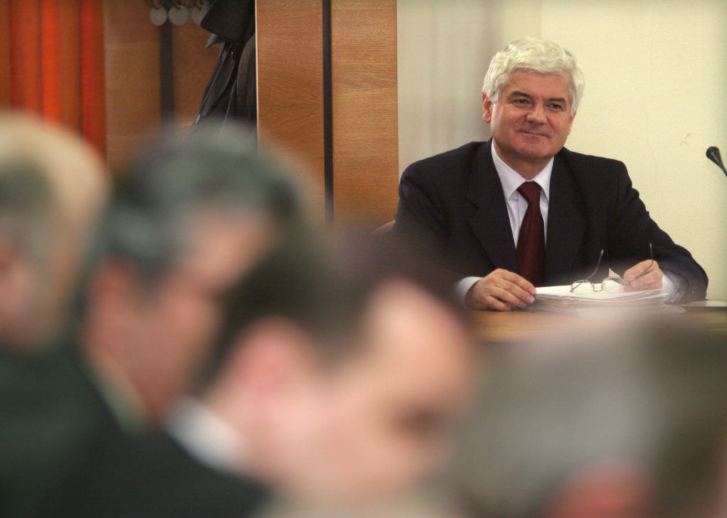 Virgil Ardeleanu a fost audiat de comisiile reunite ale Parlamentului în 2005, după ce a vrut să intercepteze telefoane ale unor agenții de presă. FOTO: MediafaxFoto / Cătălina Filip
