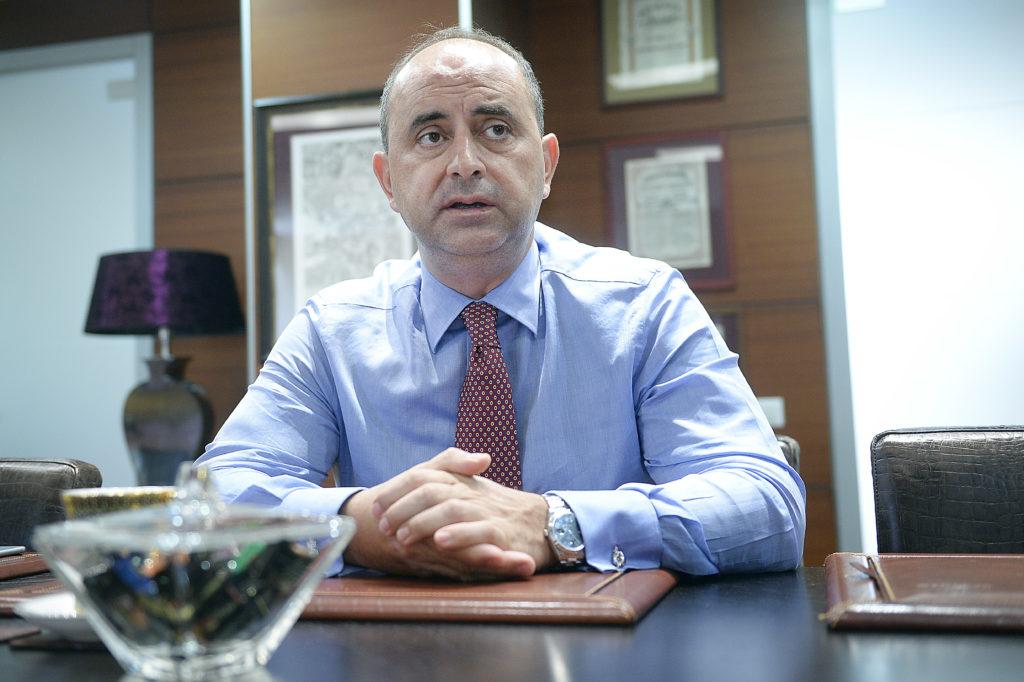 Gabriel Comănescu, proprietarul GSP (Grup Servicii Petroliere) și unul dintre cei mai bogați români. Foto: Mediafax Foto / Marian Ilie