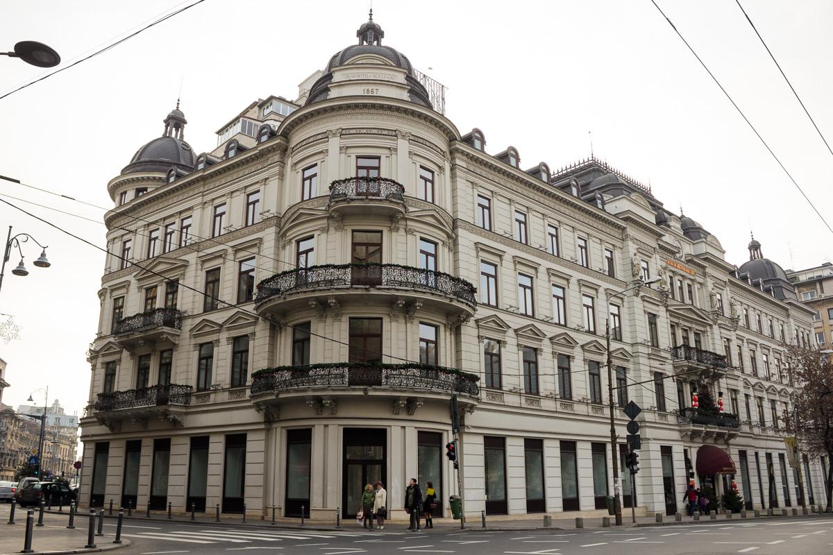 Grand Hotel Du Bulevard este unul dintre cele mai vechi hoteluri din București. FOTO: Sergiu Brega/RISE Project