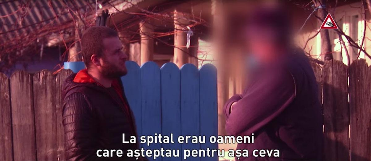"""Petru Ivașcu (d), captură """"În Premieră""""."""