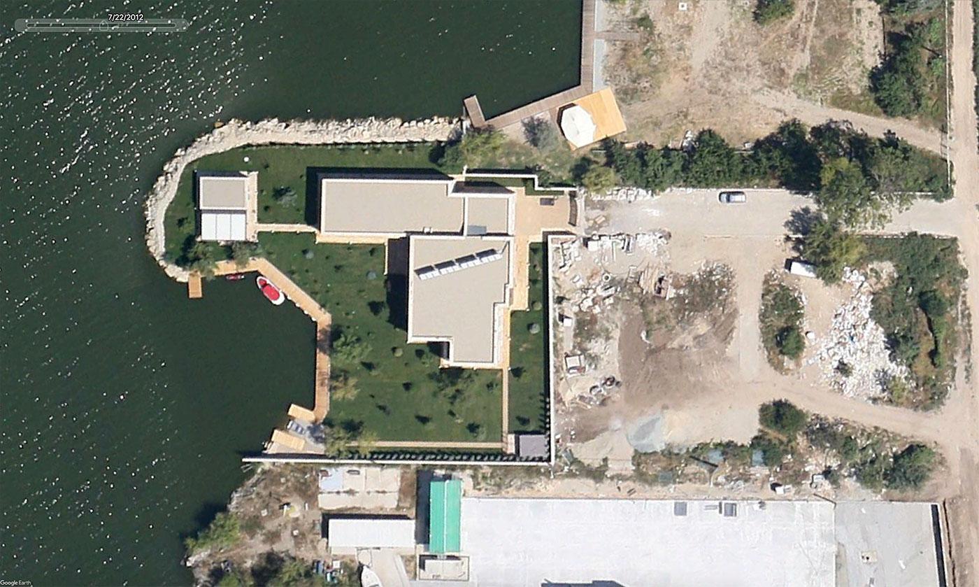 Captură Google Earth