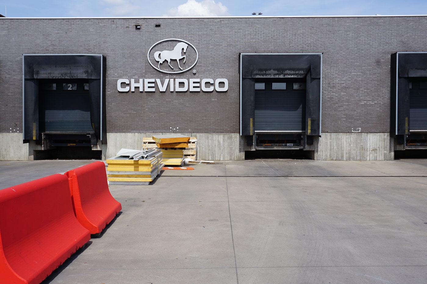Sediul Chevideco din Menen, Belgia