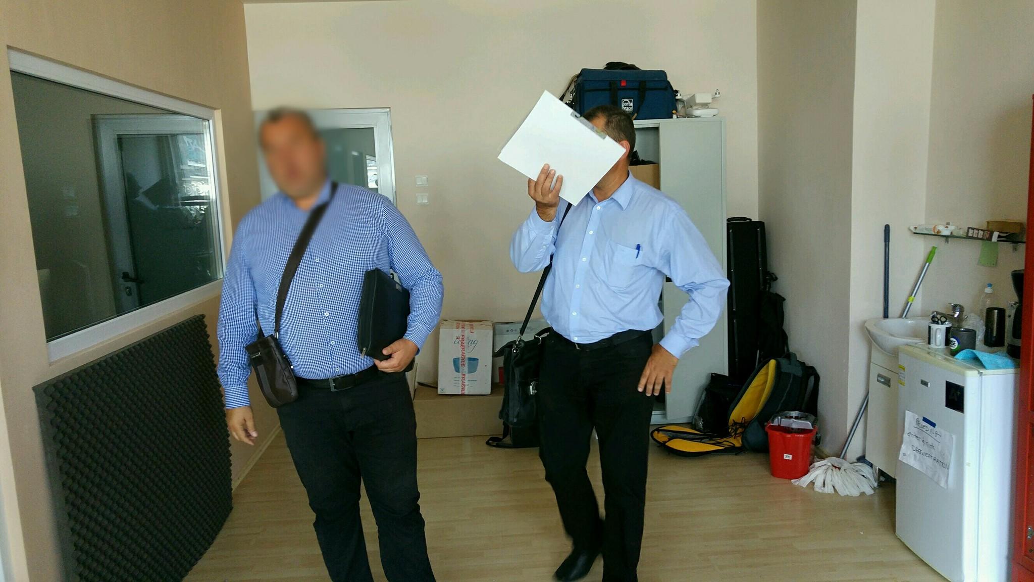 Cei doi inspectori ANAF trimiși la sediul RISE Project