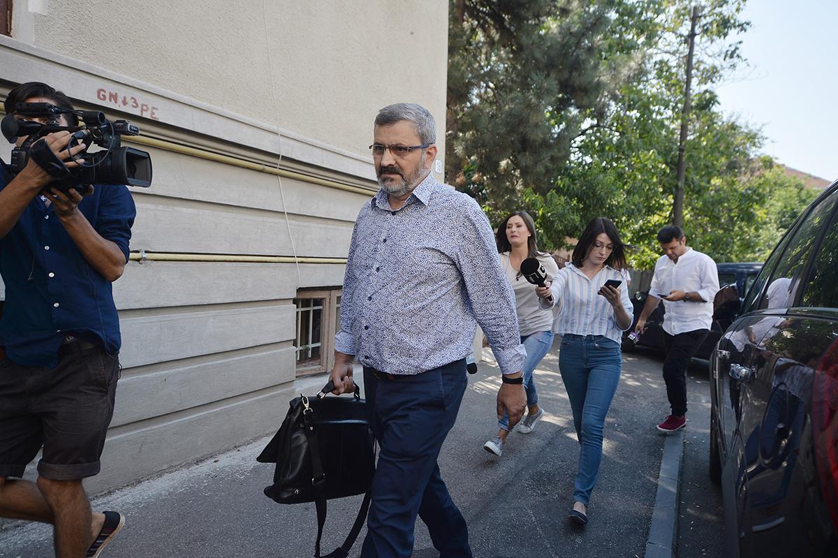 Petre Pitiș la DNA / Foto: Mediafax Foto, Alexandru Dobre