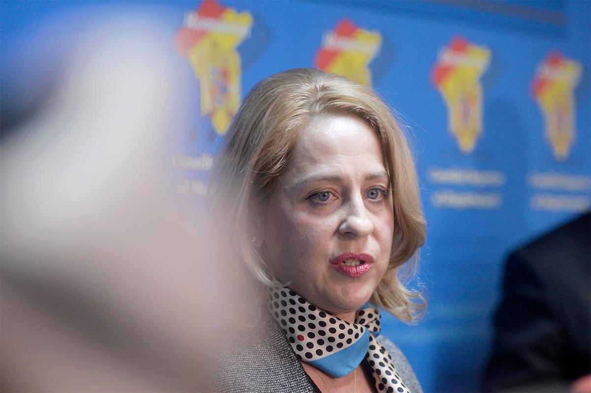 Simona Camelia Marcu, președinta CSM. / Foto: Mediafax Foto, Andreea_Alexandru