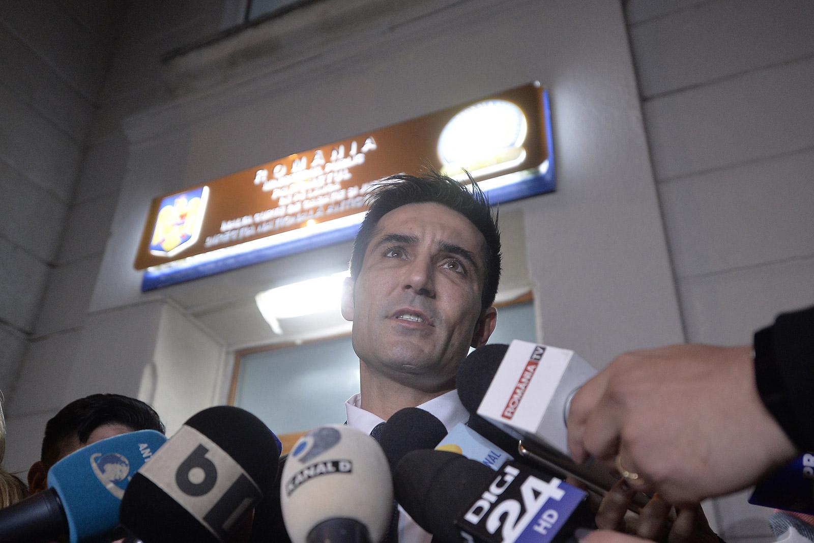 Claudiu Manda a fost audiat săptămâna trecută ca martor în dosarul Tel Drum / Foto: Mediafax Foto, Alexandru Dobre